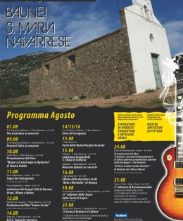Programma Agosto – Estate Baunese Navarrese 2012